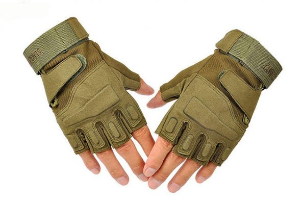【U-NEST】タクティカル 指切り 手袋