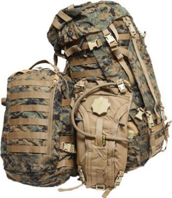 リュックタイプのバッグ